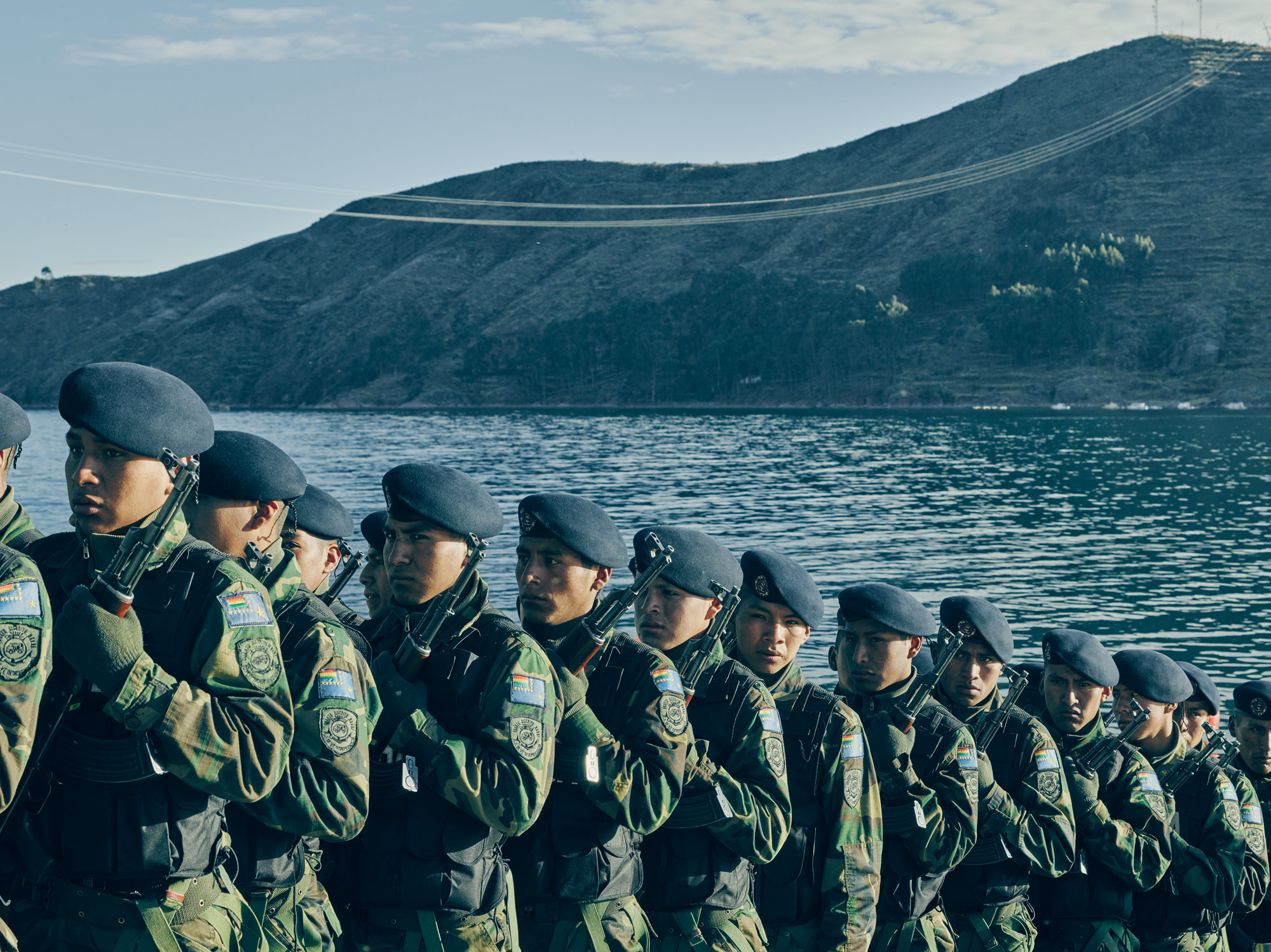 Bolivian Navy soldiers