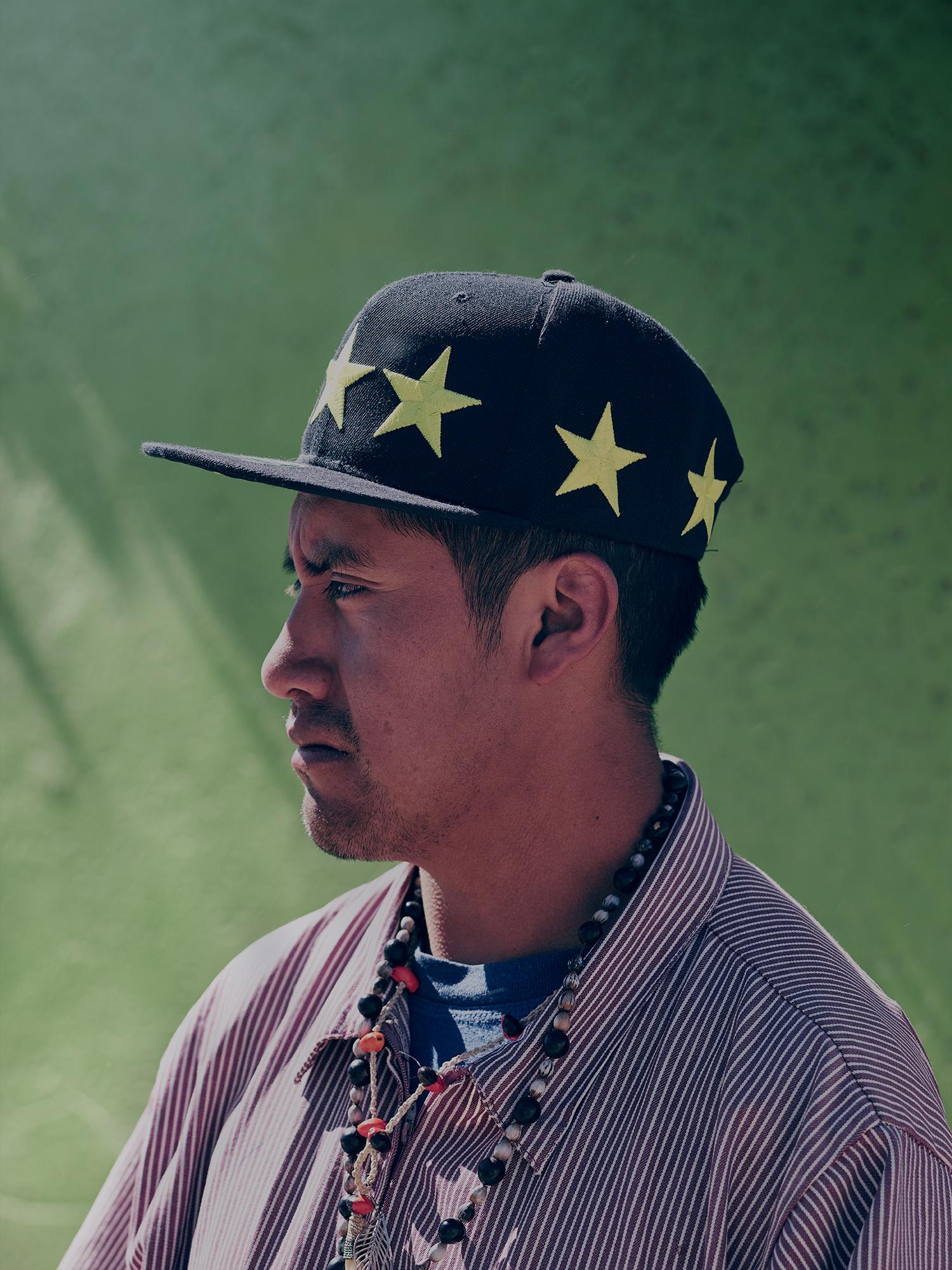 Bolivian male portrait